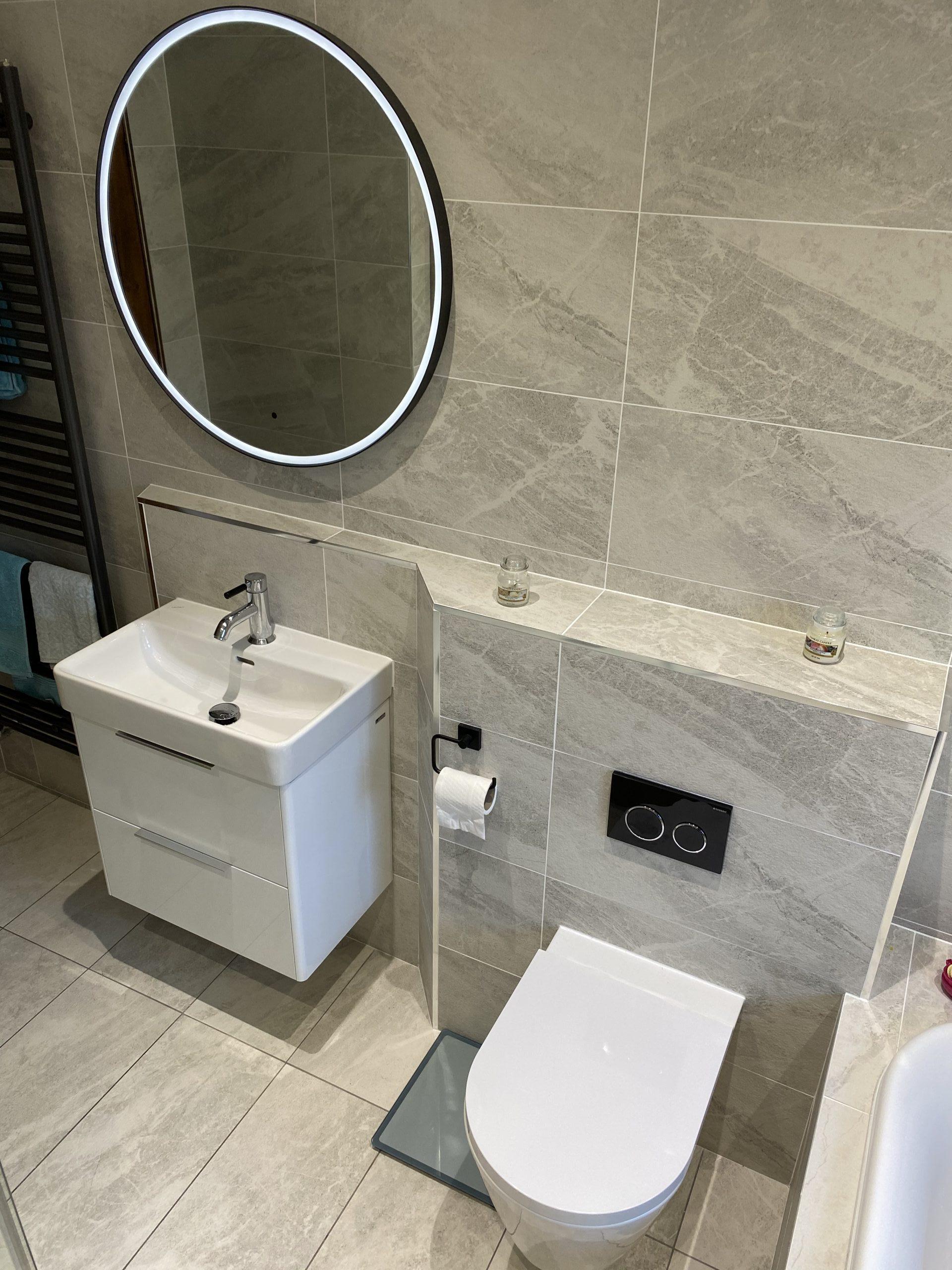 Elixir Bathrooms - sink and toilet