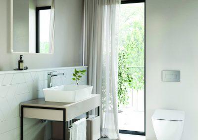 Elixir Bathrooms - stand alone bathroom console