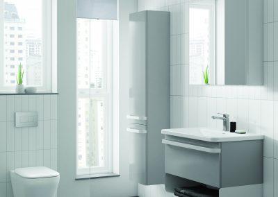 Elixir Bathrooms - white bathroom