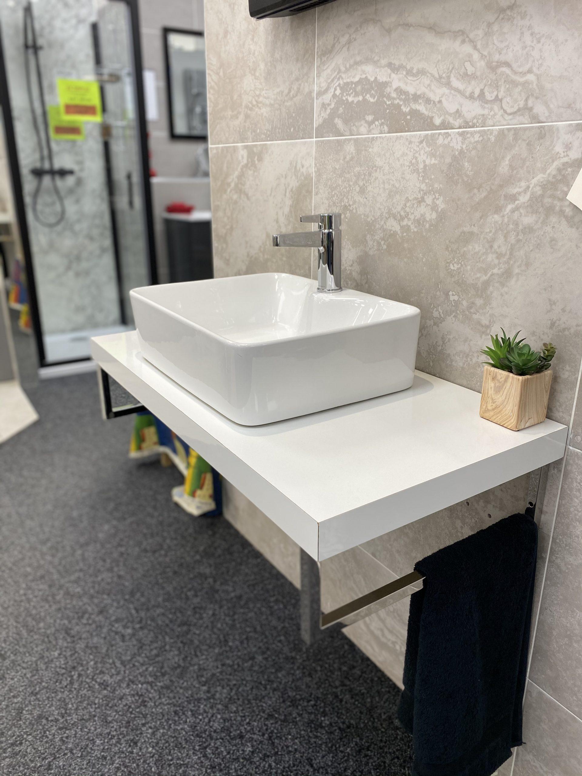 Elixir bathrooms fl shelf